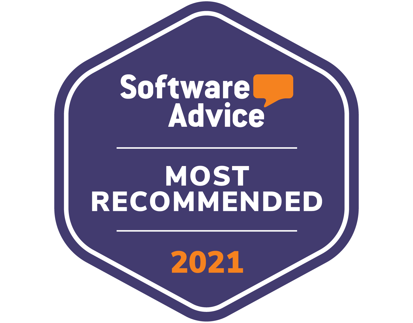 Software Advice Recommended for Patient Portal Software Mar-21